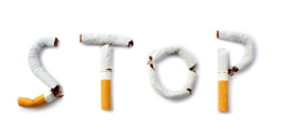Cigarettes en forme de stop